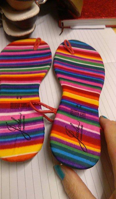 suole sandali uncinetto cm 23
