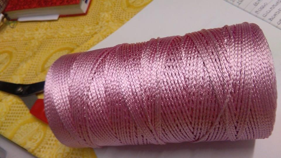cordino thai effetto rosa forte