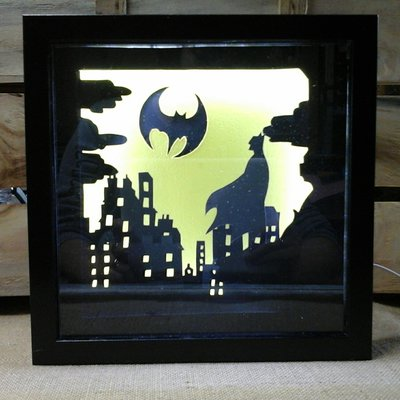 Lampada led batman