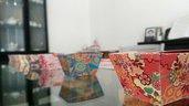 Scatolini portaconfetti/bomboniere  tema kimono