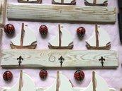 Porta chiavi in legno