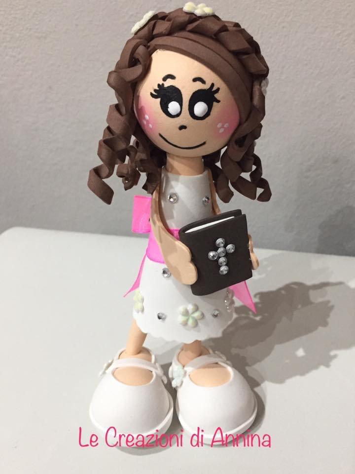 Mini bambola fofuchas Comunione