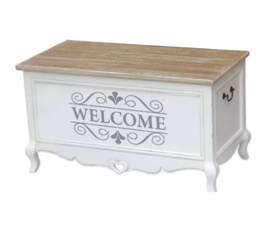 Adesivo Welcome decorativo per interni ed esterni