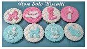 Biscotti decorati Nascita/Battesimo