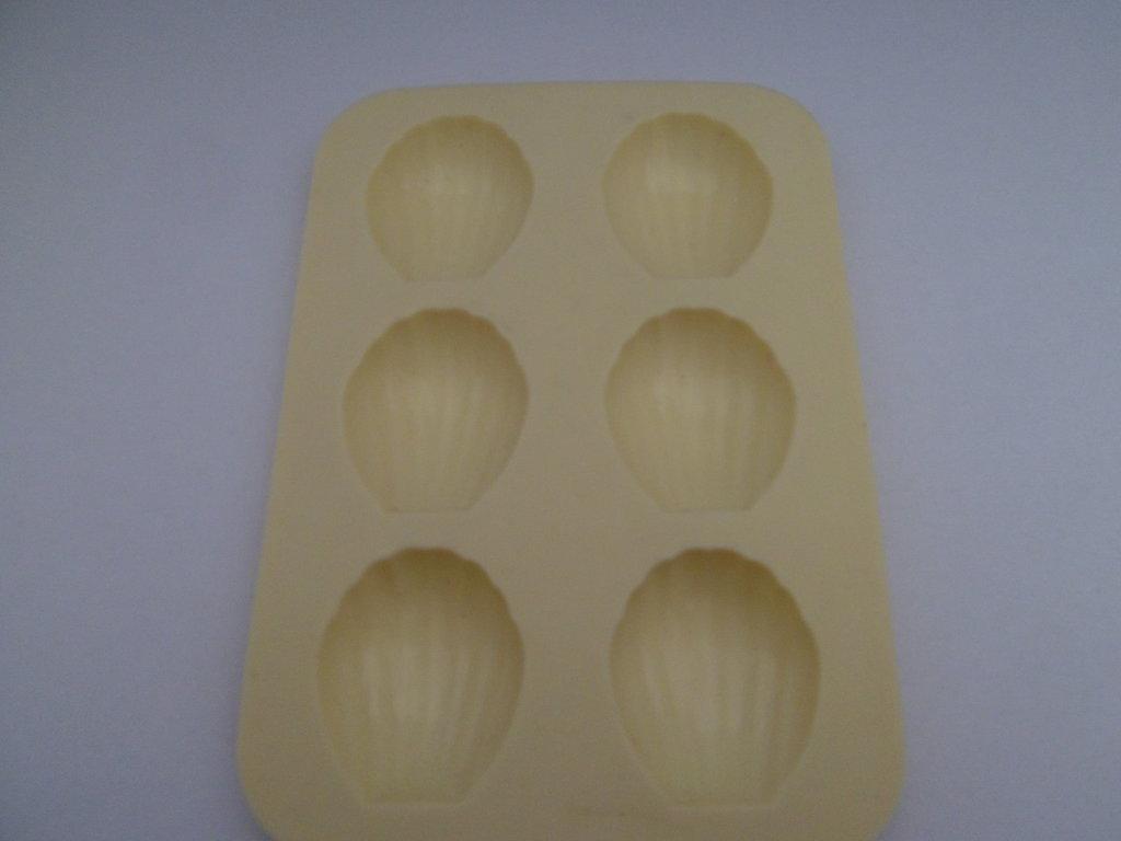 Stampo in silicone per fimo o colata in gesso linea mare tema conchiglie