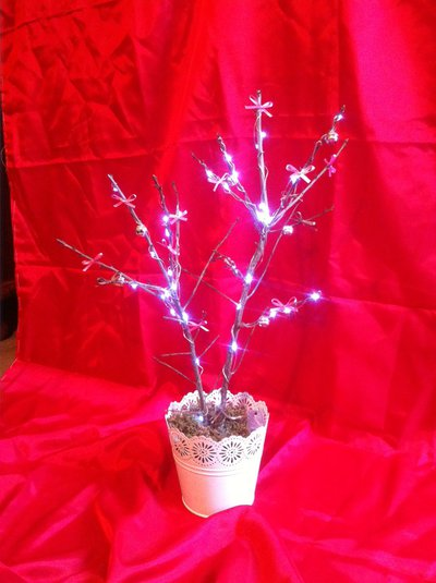 Albero twinkle con luci a batteria 2918