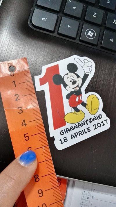 biglietto confetti topolino