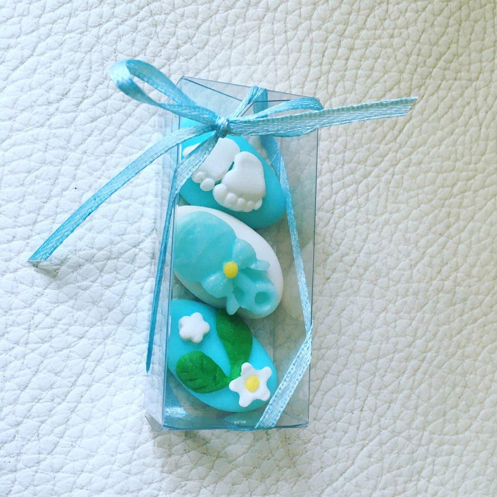 Box confetti decorati