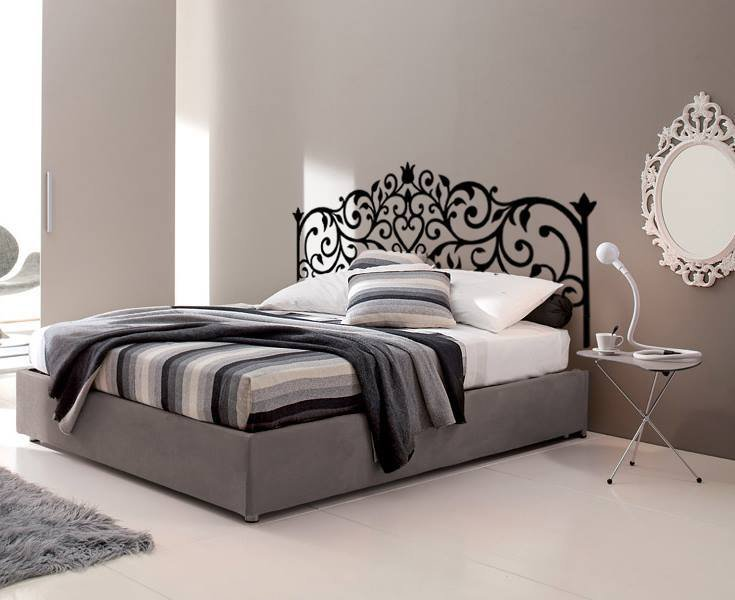 Emejing Testiera Letto Ferro Battuto Ideas - Amazing House Design ...