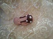 Bimbo in fimo bomboniera segnaposto nascita battesimo