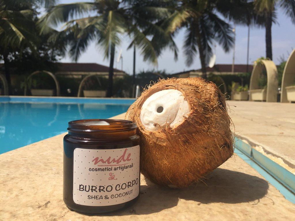 """BURRO CORPO """"Shea&Coconut"""" 120ml"""