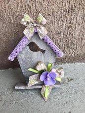 Casetta con fiori