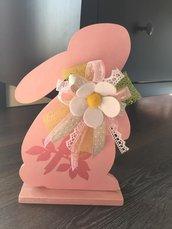 coniglietto con fiori