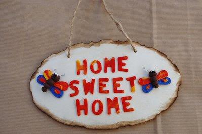 """Targa """"home sweet home"""""""