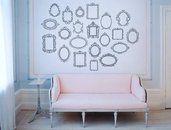 21 cornici adesive retrò per parete