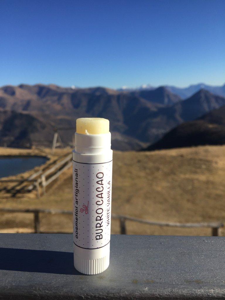 BALSAMO LABBRA NATURALE White Vanilla