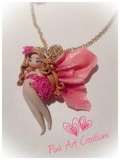 Collana bambolina fatina