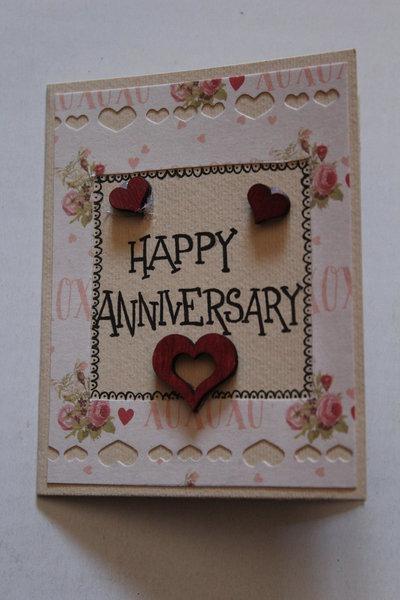 Biglietto Anniversario - Happy Anniversary