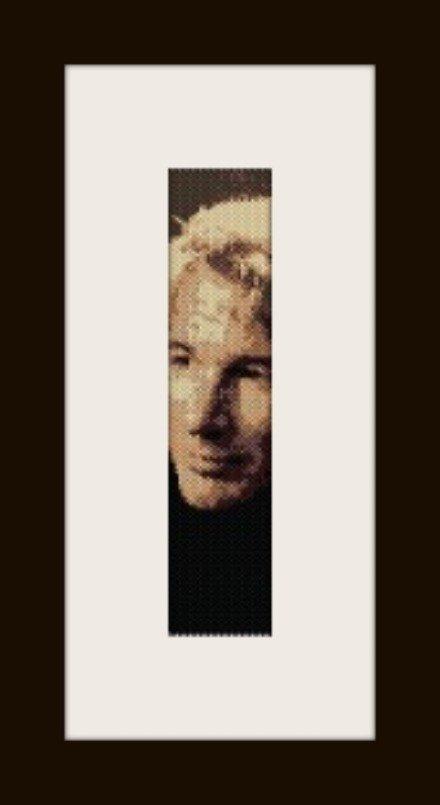 PDF schema bracciale Richard Gere in stitch peyote pattern - solo per uso personale .