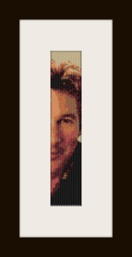 PDF schema bracciale Richard Gere 1 in stitch peyote pattern - solo per uso personale .