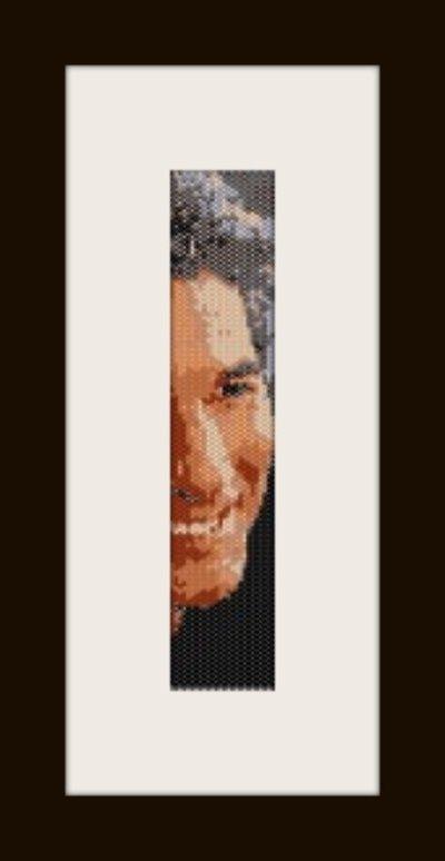 PDF schema bracciale Richard Gere 2 in stitch peyote pattern - solo per uso personale .