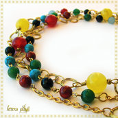 "*RISERVATA a PRIS: collana ""MULTICOLOR, new version""*"