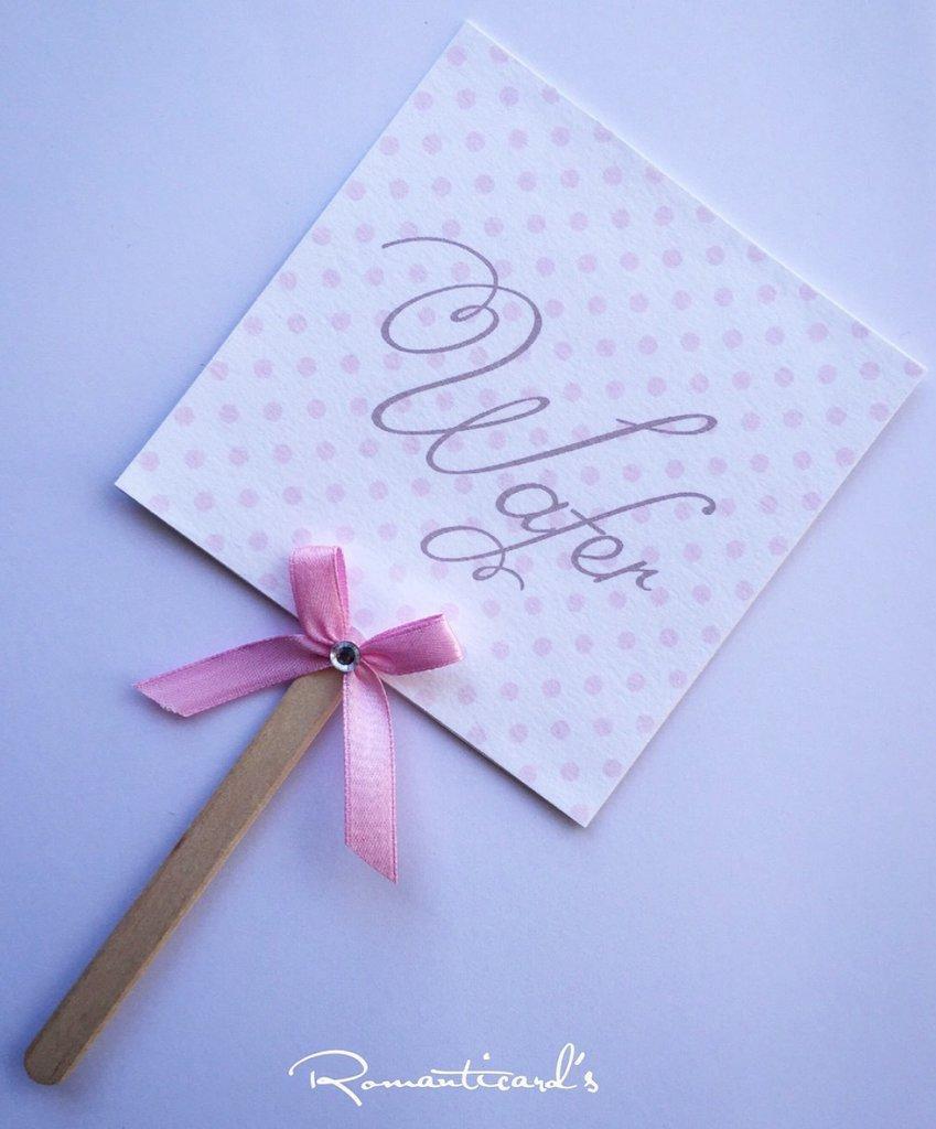 Palette di gusti per confetti by Romanticards