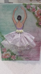 ballerina su  tela