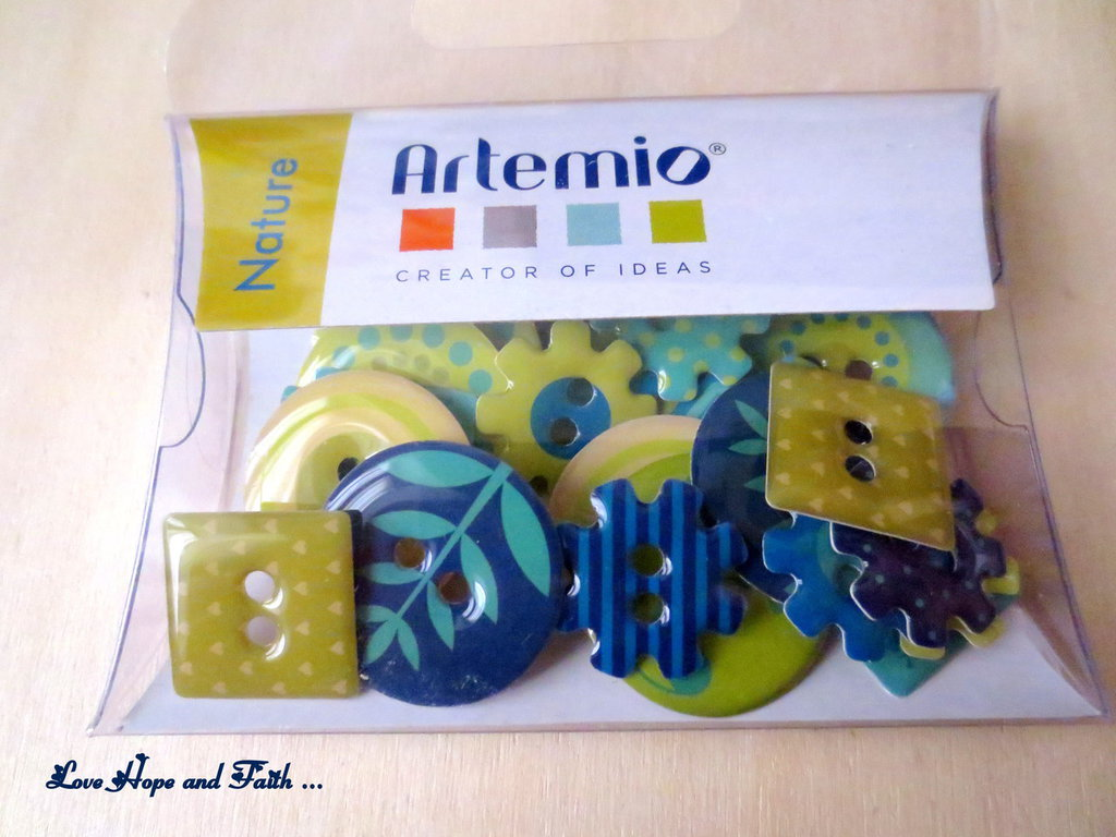 """SPECIALE SCRAPBOOKING! LOTTO 30 bottoni in resina """"Nature"""" (cod.new)"""