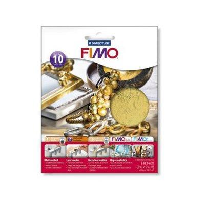 """NUOVI ARRIVI! 10 fogli in metallo """"Gold"""" (Cod. Fimo)"""