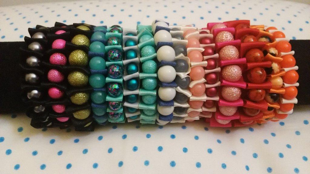 Bracciali nastri colorati