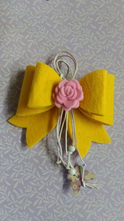Portachiavi bomboniera handmade