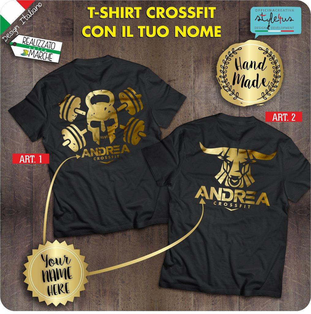 T-shirt Crossfit con il tuo nome