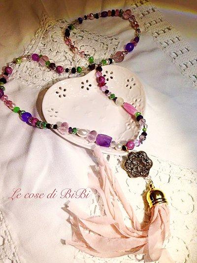 Collana donna boho