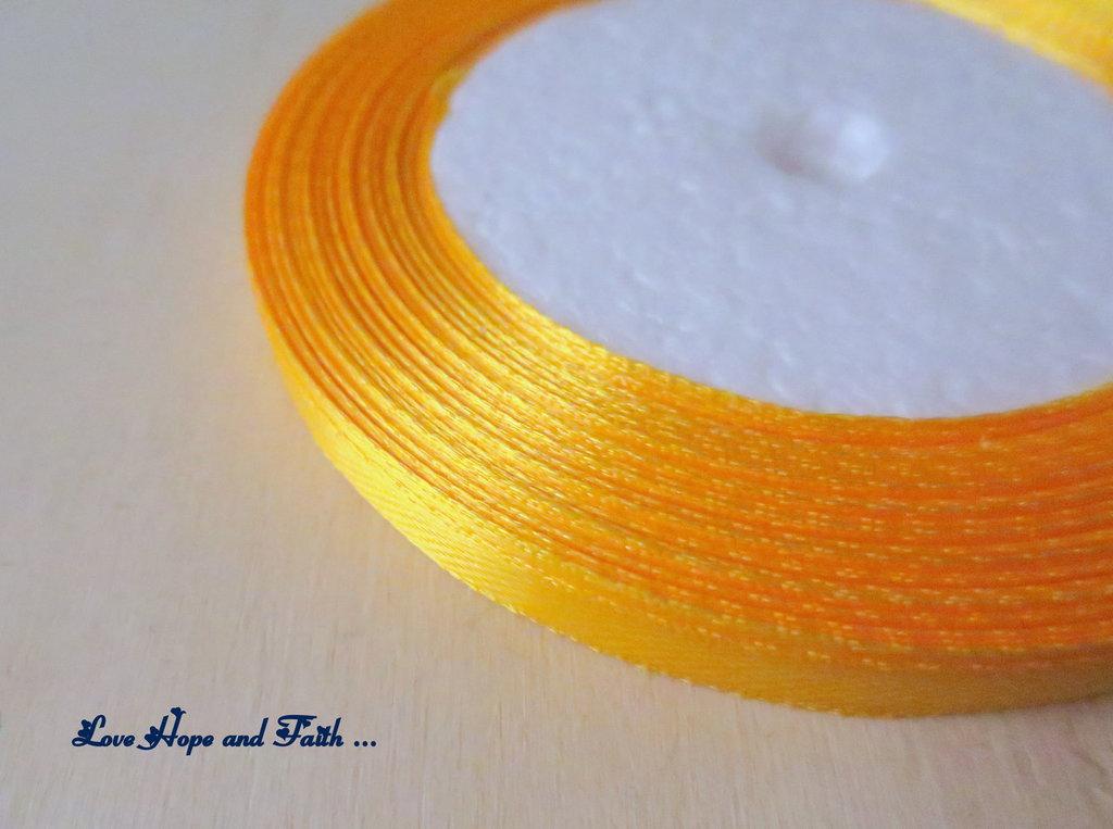 """Nastro simil raso """"Orange"""" (cod.new)"""