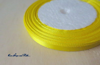 "Nastro simil raso ""Yellow"" (cod.new)"