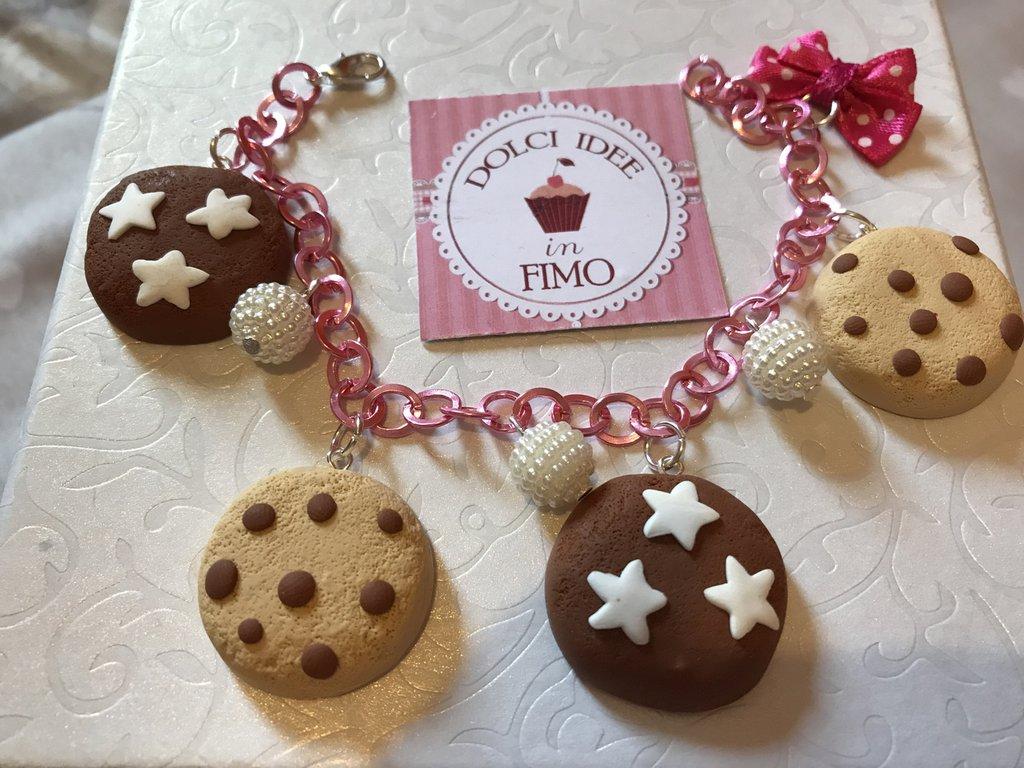 Braccialetto tema biscottini