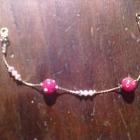Bracciale, braccialetto con swarovski HANDMADE