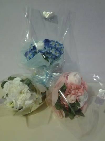 Bouquet corredino per nascite o battesimo