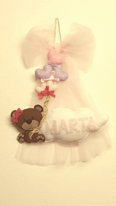 Banner nascita Marta