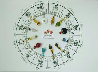 """Ciondolo """"I colori dello Zodiaco"""""""