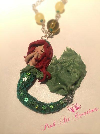 Collana ciondolo Ariel