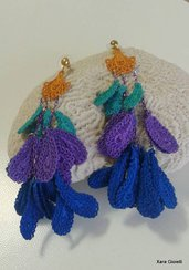 Orecchini pendenti Peacockcolour