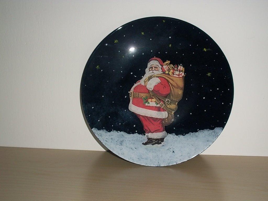 piatto natalizio