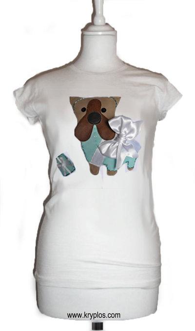 Bulldog fashion t-shirt