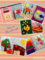 Quiet book - Libro sensoriale per bambini