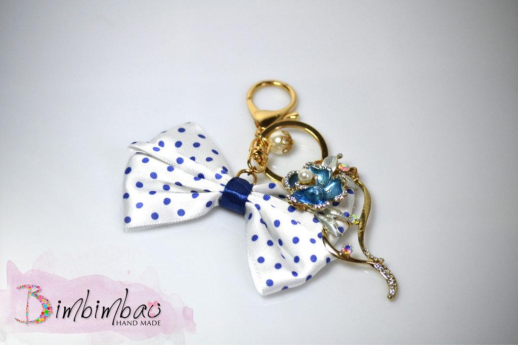 portachiavi chiave accessori donna bellezza fiocco ciondolo pendente moda portachiave
