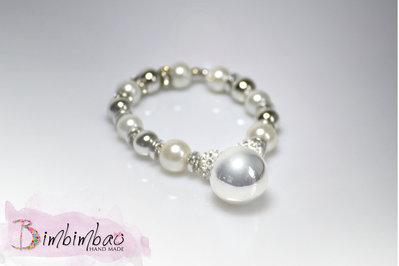 bracciale elastico bigiotteria donna perle bolas messicana chiama angeli festa della mamma