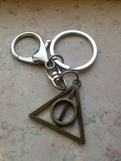 Portachiavi Doni della Morte Bronzo Harry Potter