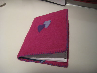 Copri agenda in panno lana